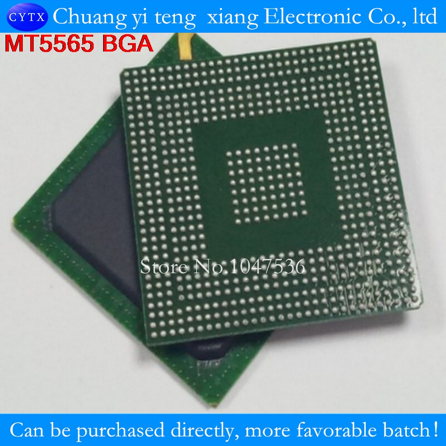 MT5565EQVG MT5565 MT5565HQVG BGA 1PCS  New original authentic integrated circuit IC LCD chip  electronic