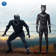 Black Panther Cosplay Costume Men Carnival Halloween Costume For Adult  Costume Black Suit Superhero Custom Made custom made fire emblem fates cosplay costume adult takumi cosplay costume halloween cosplay costume