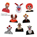 X-MERRY FREE SHIPPING Joker Clown Costume Mask Creepy Evil Scary Halloween Clown Mask