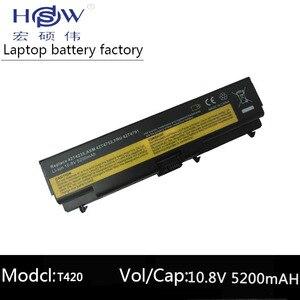 HSW laptop battery FOR Lenovo ThinkPad E40 L512 T410 E50 notebook battery E420 L520 E425 SL410 T420 E520 T510 E525 battery