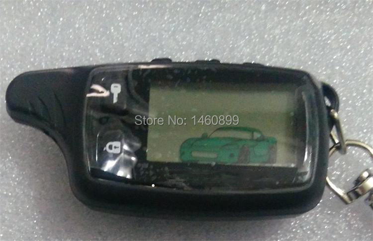 TW-9010 LCD Télécommande Clé Fob, Tamarack pour Russe Version Tomahawk TW9010 Deux Voies Système D'alarme De Voiture Tomahawk TW 9010