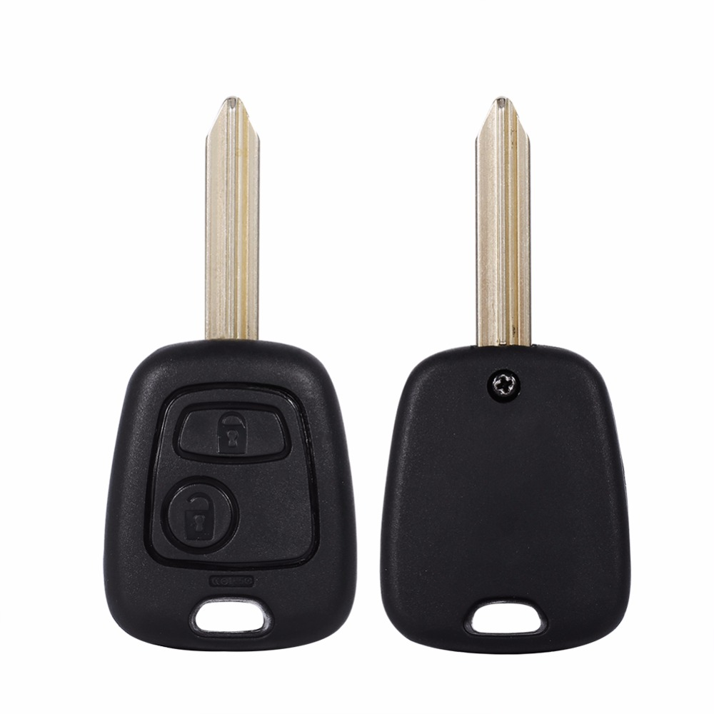 Image 4 - 1 Pcs 2 Buttons Key Case Shell For Citroen Remote Uncut Blank Blade Key Fob Shell Case For Citroen Saxo Xsara Picasso Berlingo-in Key Shell from Automobiles & Motorcycles