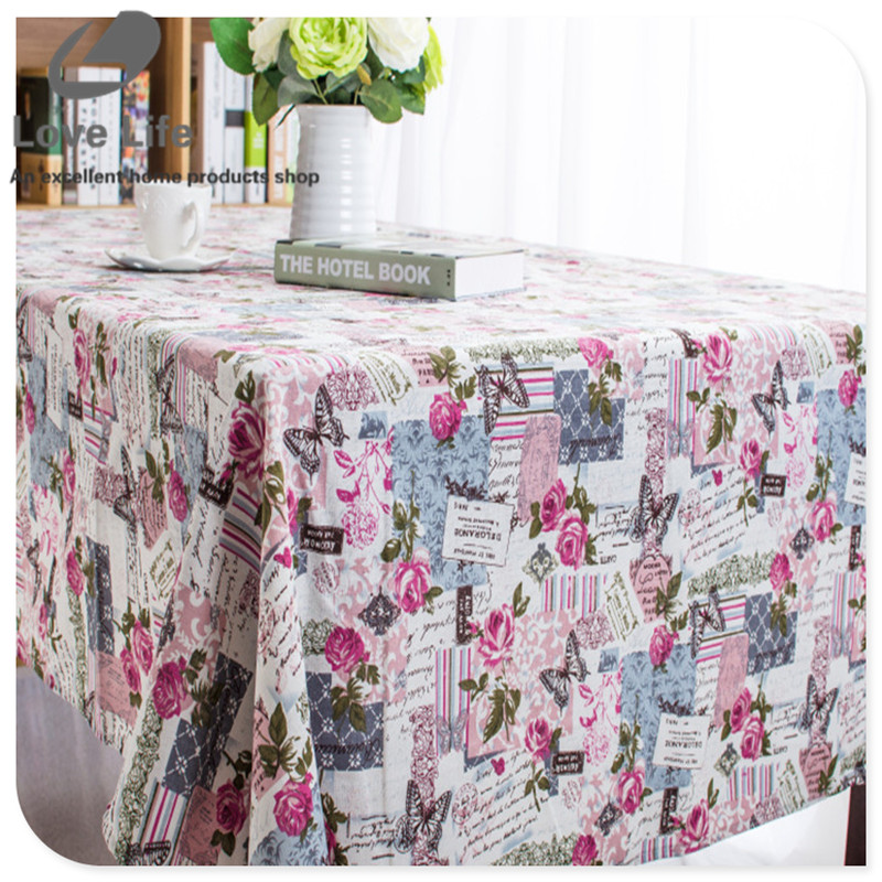 party table cloth waterproof oilproof table cloth rectangular flower printed nappe de table. Black Bedroom Furniture Sets. Home Design Ideas