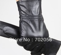 Mens Real Leather Gloves Leather GLOVE Gift Accessory Wholesale From Factory 12pair Lot 3165