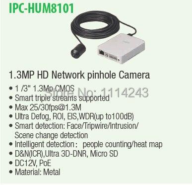 DAHUA 1 3mp HD Ultra Smart Network Pinhole Camera with 3 6mm Lens with Audio Original