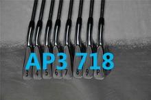 8 шт. AP3 718 Железный набор 718 AP3 Гольф кованые клюшки для гольфа AP3 Гольф-клубы 3-9Pw R/S Flex сталь/графит вал с крышкой на голову
