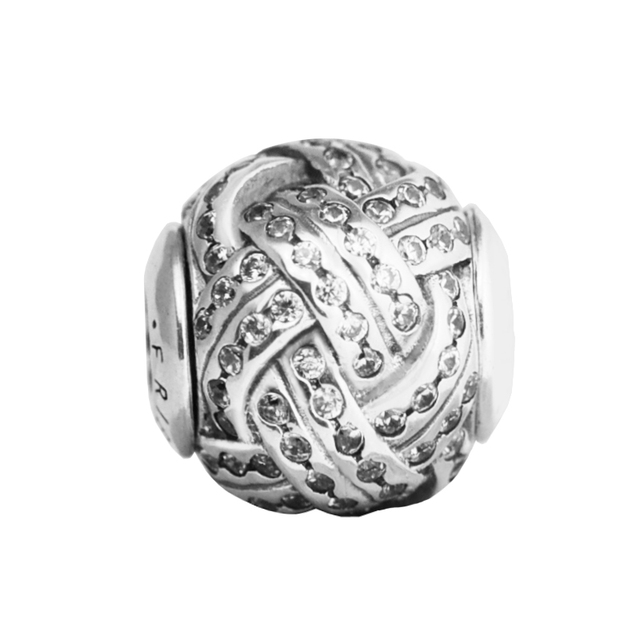 Fits For Pandora Essence Bracelets Friendship Charms 100 925 Sterling Silver Jewelry Beads Free Shipping