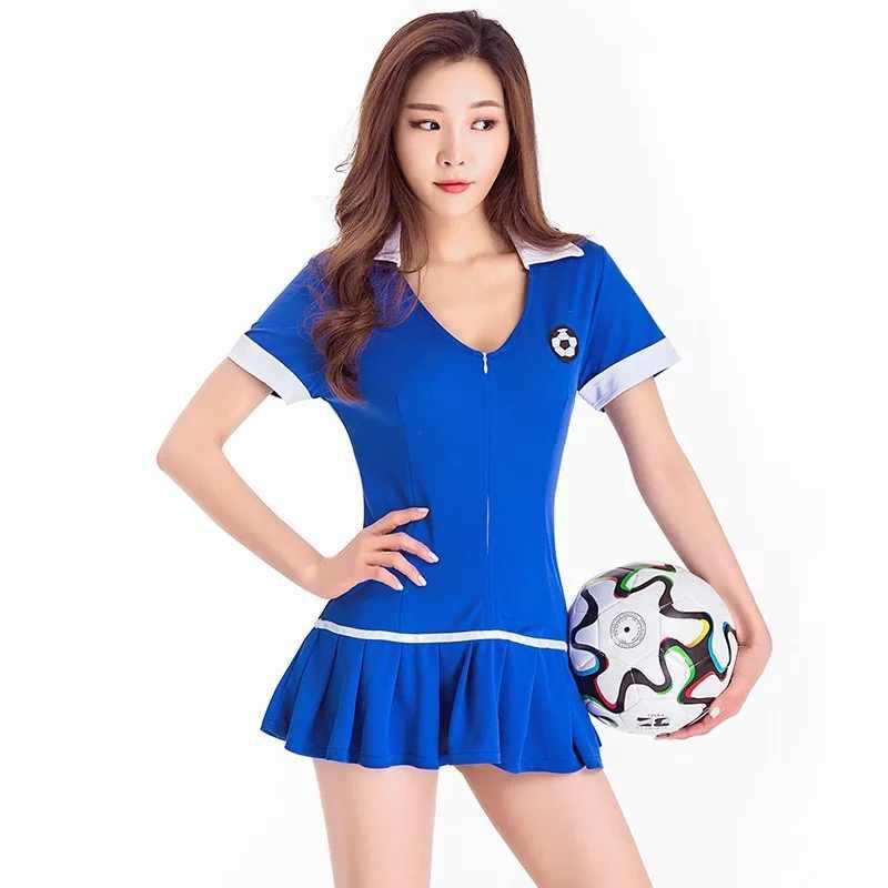 9368fd8e4e29a ... Women   Teen Girls Cheerleader Costume Uniform Students Football  Baseball Belly Jersey Outfit 2PCS Set Sexy