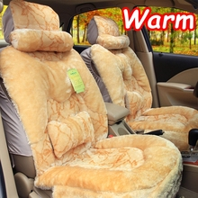 2015 winter car cushion seats covers warm faux fur car interior accessories car pad cover for car ventilated decorative cushions