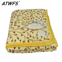 High Grade Plush Heated Blanket Double Electric Blanket Waterproof Safety Thermostat Electric Heating Blanket 150 120cm
