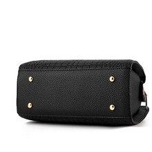 Women's Luxury Crocodile Leather Handbag