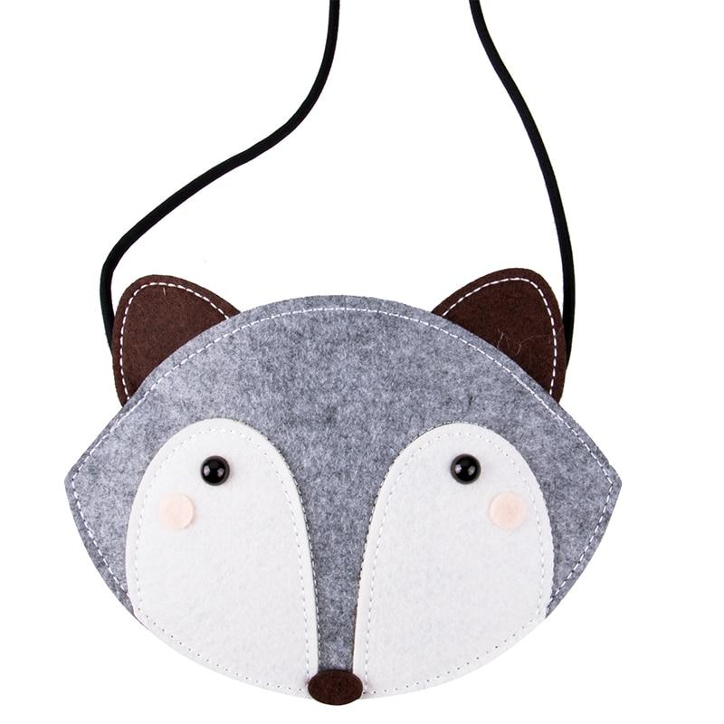 2019 Brand New Baby Girls Purse handbag Children Kids Cross-body shoulder bag Gifts Cartoon Animals Bag Fox Ladybug Bee