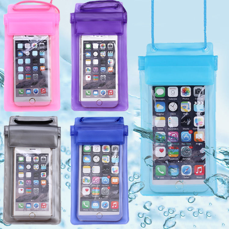 Universal Swimming Waterproof Phone Dry Bag Case Underwater Phone Pouch Compatible Protective Bags For Pools Beach Skiing Travel