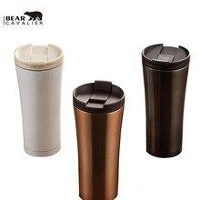Heißer Verkauf Doppelwandige Thermos Tassen Tassen Thermische Flasche 500 ml Thermocup Mode Becher Isolierflasche