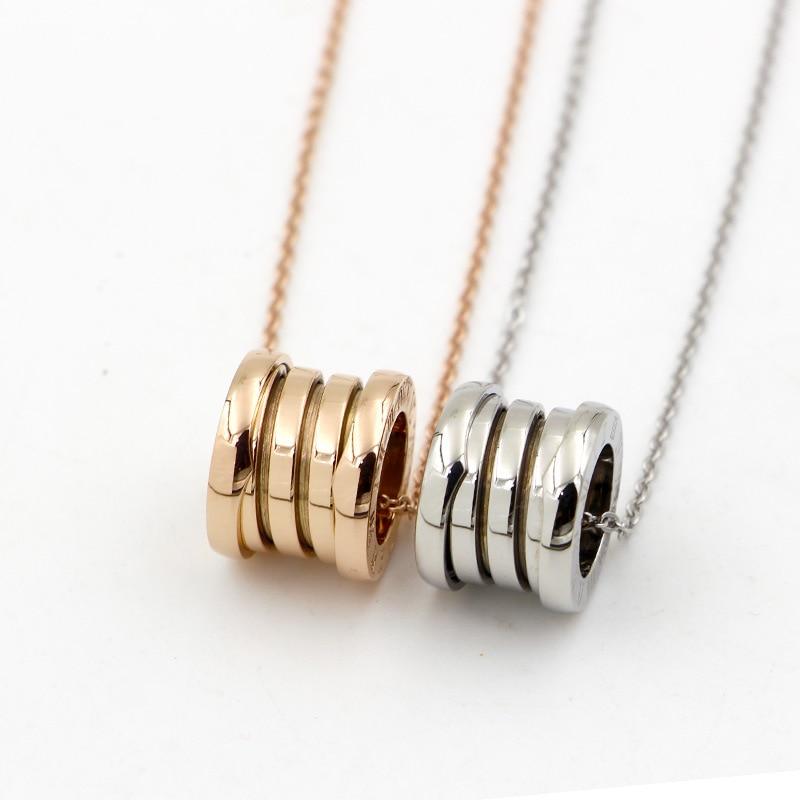 Новое ожерелье, подвесное четырехдугообразное римское цифровое весеннее ожерелье, Пара моделей ювелирных изделий