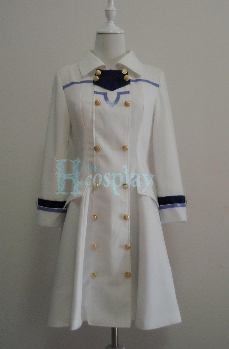 Akagami no Shirayuki-hime Shirayuki Cosplay Costume Custom Any Size
