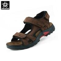 Top Quality Sandal 2017 Men Sandals Summer Genuine Leather Sandals Men Outdoor Shoes Men Leather Sandals