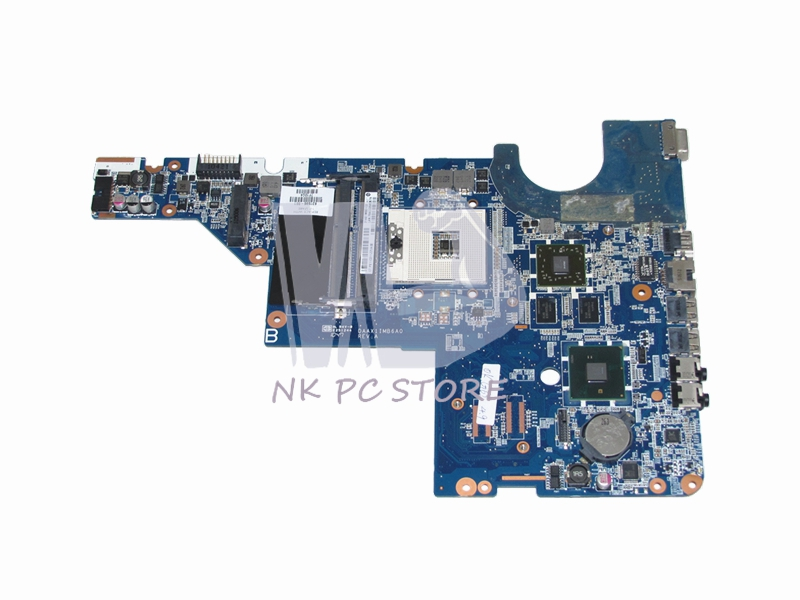631596-001 Laptop motherboard For HP G42 G42T Main Board HM55 DDR3 with HD6370M Video Card 702901 501 702901 001 690225 001 main board for hp envy m4 m4 1000 laptop motherboard slj8c hd4000 ddr3
