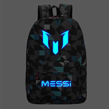 Messi Backpack Teen College high School Bag for Teenager Boy schoolbag Black men Back pack Kids Book Bag 2019 - DISCOUNT ITEM  45% OFF All Category