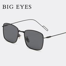 Mujeres hombres moda gafas de Sol Cuadradas Estilo Gafas de Sol de Verano Parejas Diseñador de la Marca gafas de Sol RETRO Oculos gafas de sol de metal