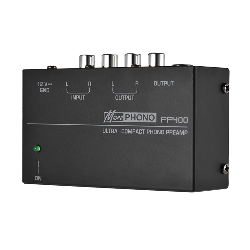 cheapest Ultra-Compact Phono Preamp Preamplifier With Rca 1 4Inch Trs Interfaces Preamplificador Phono Preamp Eu Plug