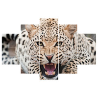 Diy diamond painting diamond embroidery leopard triptych decorative pictures of rhinestones crafts home decoration BK 3253