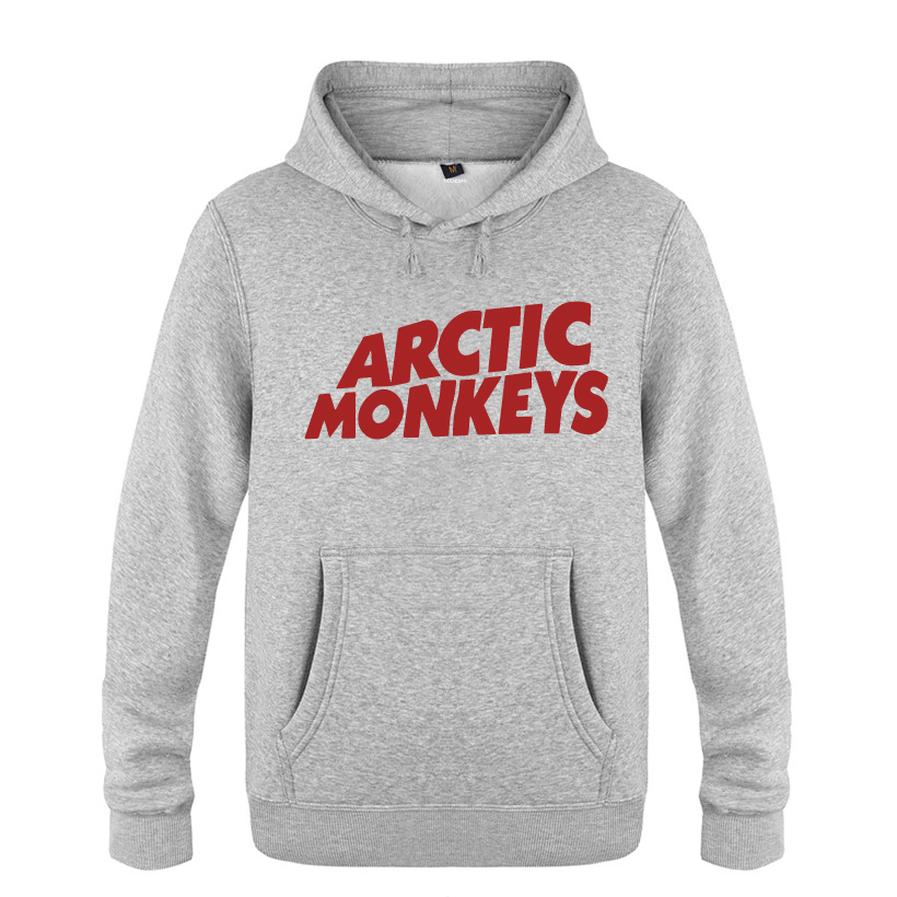 Romantic Mens Cotton Sweatshirt Fashion Male Hoodies Arctic Monkeys Rock Music Band Shubuzhi Brand Tops Autumn Winter Hoody Men's Clothing
