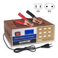 12v 24v Car Battery Charger Full Automatic Battery Charger Intelligent Pulse Repair Type 100Ah For Motorcycle Auto Truck