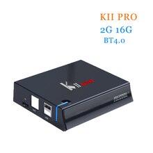 [WeChip] KII Pro 2G 16G Android 5.1 TV Box Amlogic S905 Quad-core 64bit 4 K * 2 K HDMI 2.0 2.4G & 5G Wifi BT 4.0 HD Media Player