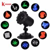 Kmashi IP65 Waterproof Star Red Laser 12 Film Led Image Latest Laser Motion Projector Light Outdoor