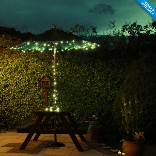 Wedding backdrop LED Solar Fairy Lights Outdoor Garden Light Christmas decor floral light string