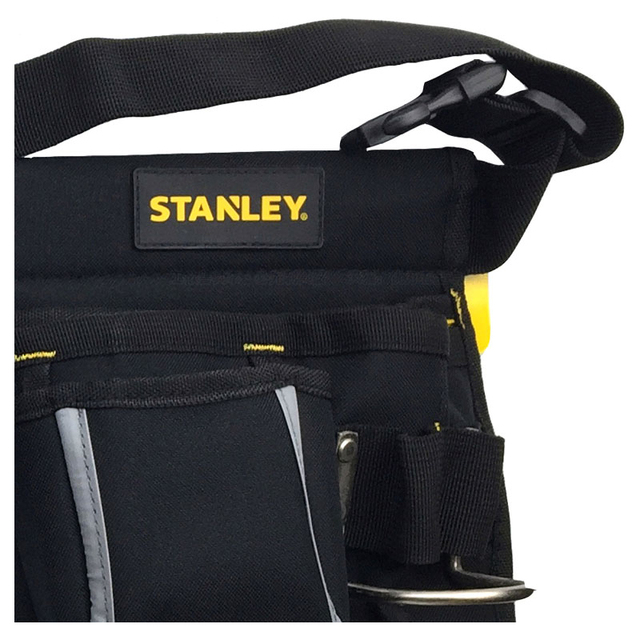Stanley tool bag waist electrician hip storage carpenters belts and bags contractor construction tool belt pouch pocket combo 2