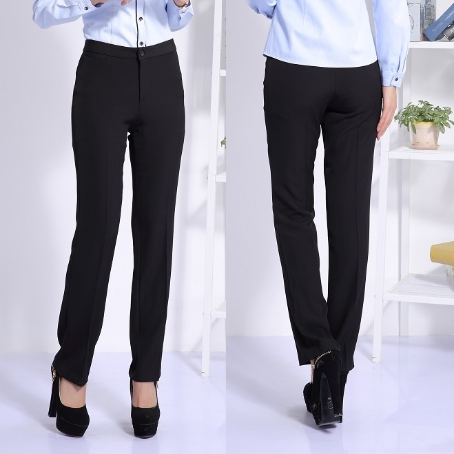 Compare Prices On Formal Black Trousers For Ladies- Online Shopping/Buy Low Price Formal Black ...
