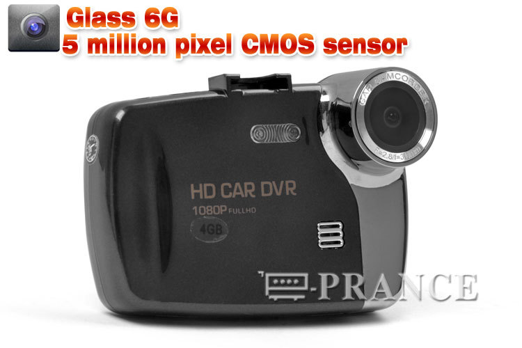 Original S6000 Car DVR 1080P + 140 Degree Wide Angle Lens  +G-Sensor + 5.0MP CMOS + HDMI/AV OUT IN STOCK
