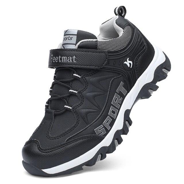 26-39 детей Весна-осень-зима кроссовки для мальчиков девочек спортивная обувь детская зимняя теплая обувь
