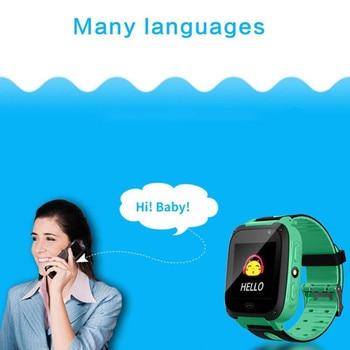 LIGE 2019 Fashion Child Smart Watch Bluetooth Remote Camera Support SIM Card For Android Phones Kids smart watch Children watch 1