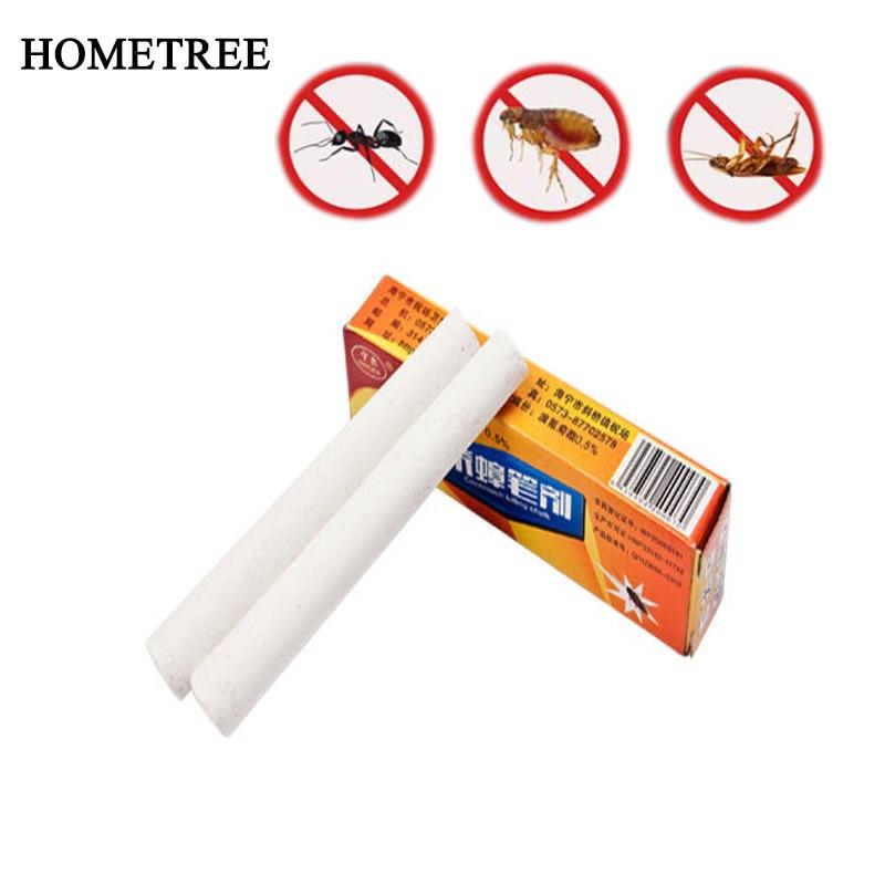 HOMETREE 4 Chalk Magic Family Chalk Poison Cock Ant Flea Chalk Insecticide Factory Kitchen Kill Locust Cockroach Killing Pen H57