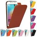 Cuero auténtico caso para samsung galaxy s3 S4 S5 mini S2 S7 S6 borde más nota 2 3 4 hebilla magnética vertical Flip teléfono cubierta