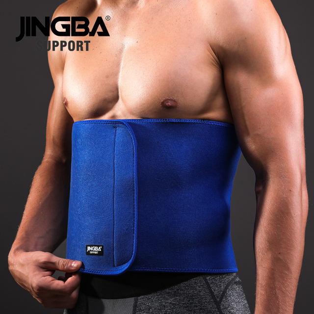 JINGBA SUPPORT fitness belt Back waist support sweat belt waist trainer waist trimmer musculation abdominale Sports Safety 1