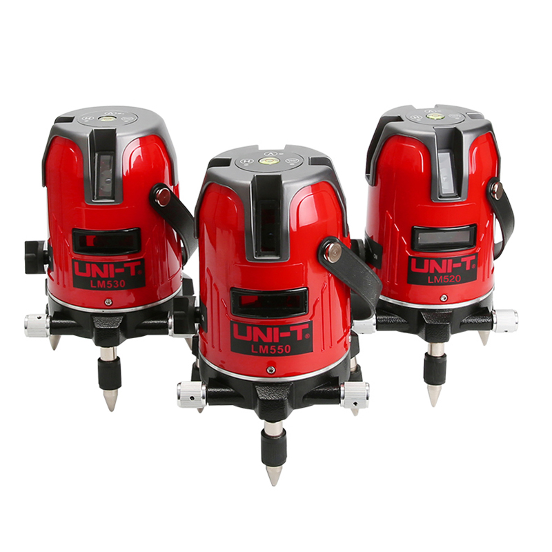 UNI T LM520 LM530 LM550 Laser Level 2 Lines 3Lines 5Lines 360 degree Self leveling Cross