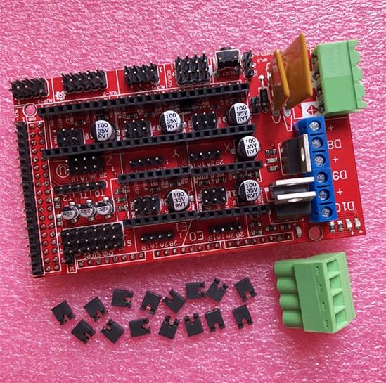 Free shipping RAMPS 1 4 3D printer control panel printer Control Reprap MendelPrusa