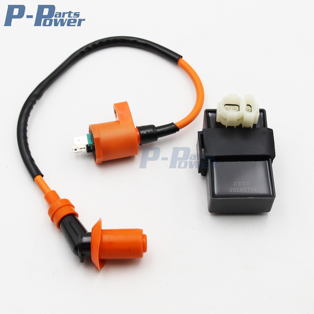 Performance Ignition Coil Dc Cdi For Kymco Sym Vento Scooter Gy6 Wiring Harness Engine Parts