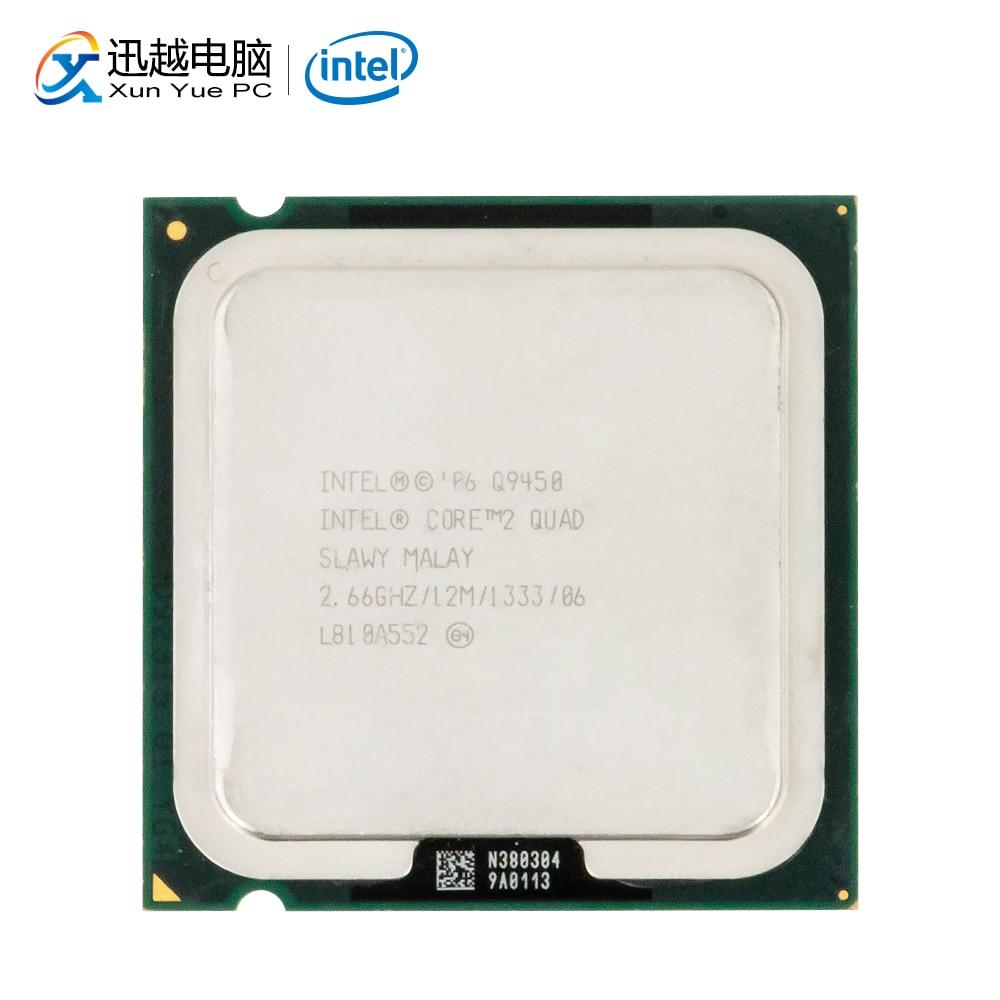 Intel Core 2 Quad Q9450 Desktop Processor Quad-Core 2.66GHz 12MB Cache FSB 1333 LGA 775 9450 Used CPU
