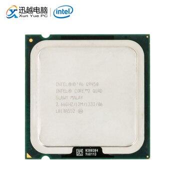Intel Core 2 Quad Q9450 Desktop Processore Quad-Core da 2.66GHz 12MB di Cache FSB 1333 LGA 775 9450 CPU utilizzata