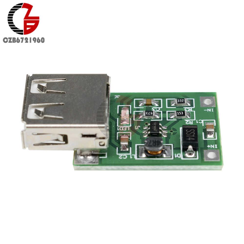 DC-DC Converter Step Up Modulo di Ricarica 0.9V-5V a 5V 600mA Step-Up Booster USB mobile di Spinta di Potere Modulo