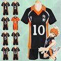 Anime Haikyuu! Karasuno Secundaria Club Voleibol Jersey Hinata Syouyou/Kageyama Tobio traje de Cosplay Uniforme Sportwear