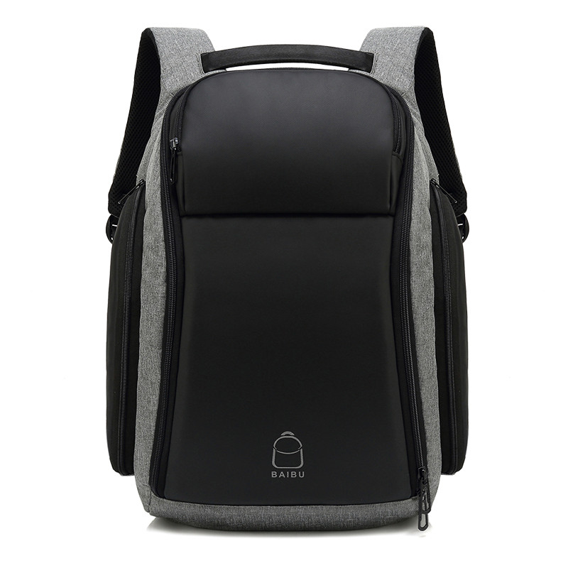 New Arrival Super Large capacity External USB Charge Laptop Backpack Waterproof Bag Casual Travel backpack for Men Women mochila