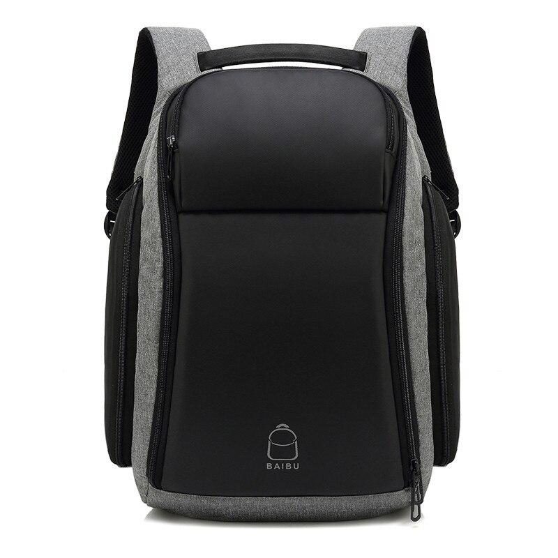 Nouveauté Super grande capacité externe USB Charge sac à dos pour ordinateur portable étanche sac décontracté voyage sac à dos pour hommes femmes mochila