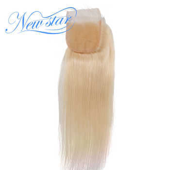 New Star Brazilian #613 Blonde Straight Lace 4''x4'' Free Part Closures Bleacked knots With Baby Hair 100% Human Remy Hair - DISCOUNT ITEM  26% OFF All Category