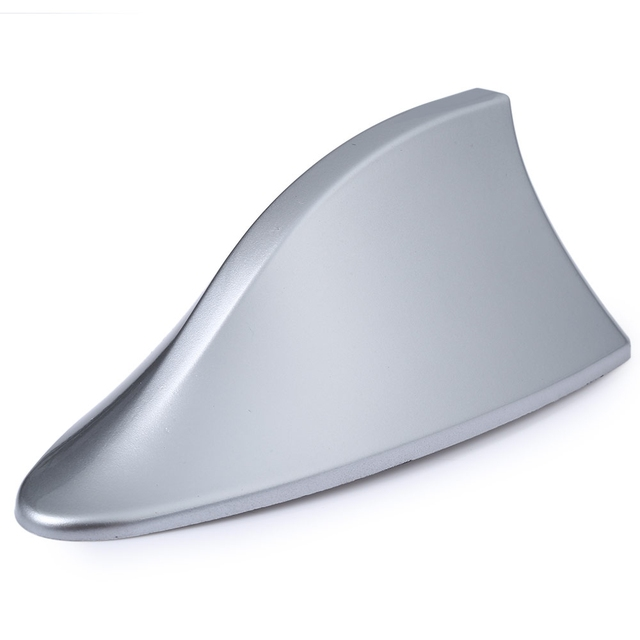 TOPS 2016 newest Universal UV Protected General  Car Roof Mounted Shark Fin Shaped Antenna Signal Radio Decorative Trim Sticker